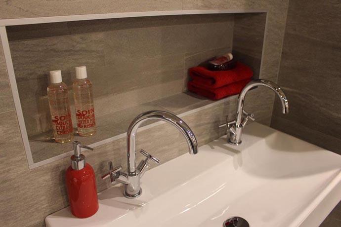 Tuinontwerp ideeen voortuin beste inspiratie voor huis ontwerp - Badkamer kleur idee ...